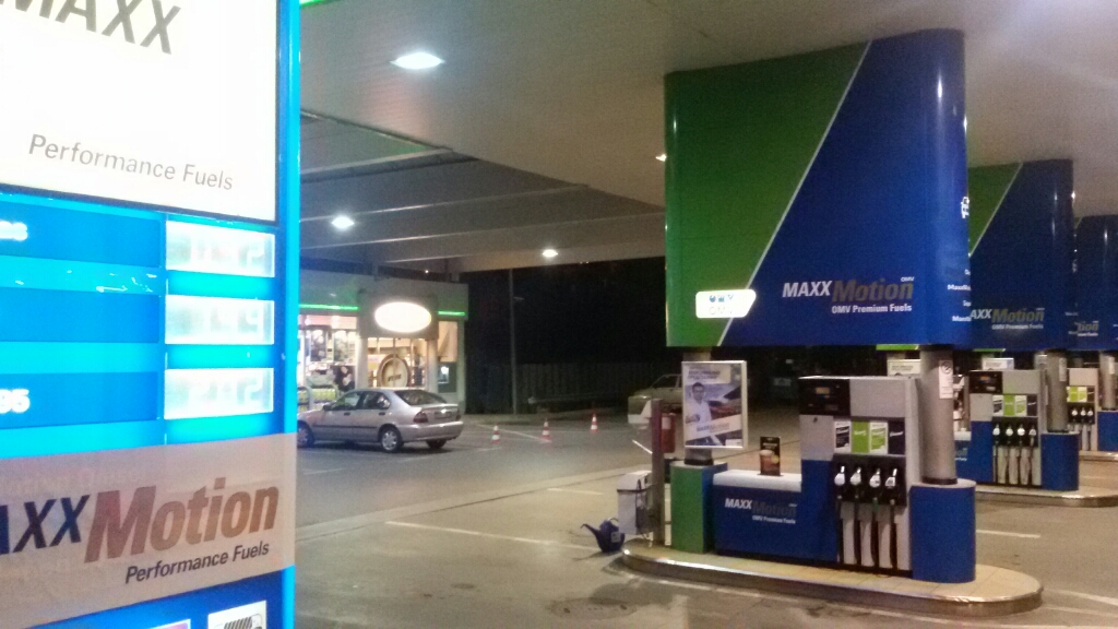 OMV - Petrol station, lpg, carwash